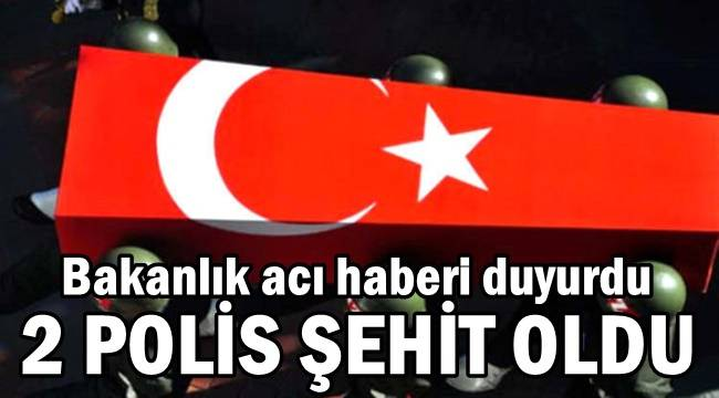 Siirt Pervari'de 2 Polis Şehit oldu !!