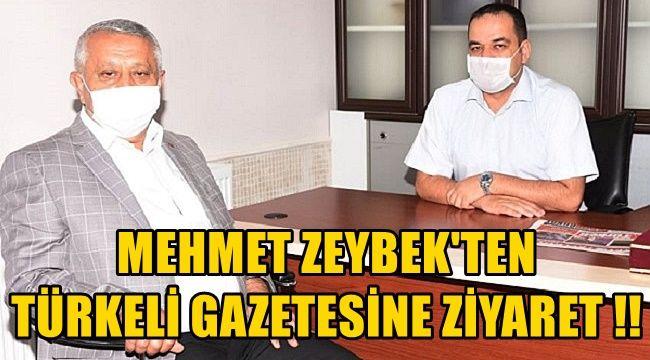 Zeybek'ten Önder Artuk'a hayırlı olsun ziyareti
