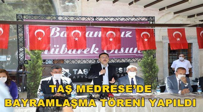 Afyon Taş Medrese'de Bayramlaşma yapıldı !