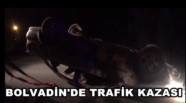 Bolvadin'de Trafik Kazası