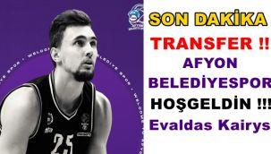 Evaldas Kairys , AFYON BELEDİYESPOR'DA !!