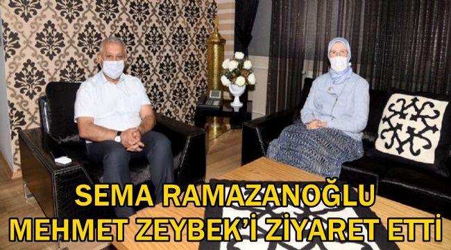Sema Ramazanoğlu'ndan Zeybek'e ziyaret