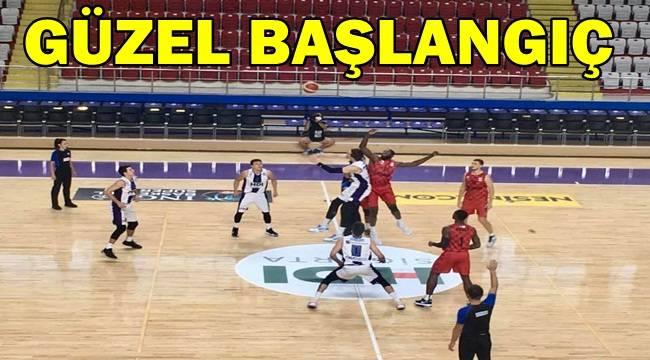Afyon Belediye Basket, Gaziantep'i mağlup etti