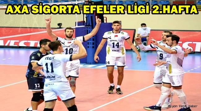 Afyon Belediye Yüntaş, Arkas'a mağlup oldu!
