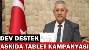 Afyon Belediyesi Askıda tablet kampanyasını başlattı