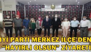 """Afyon İYİ Parti Merkez İlçe'den """"hayırlı olsun"""" ziyareti"""