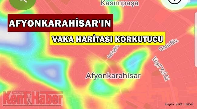 Afyon'un vaka haritası korkutucu! (ÖZEL HABER)