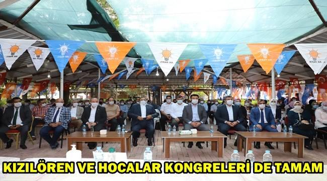 Ak Parti'de Kızılören Ve Hocalar Kongreleri tamamlandı