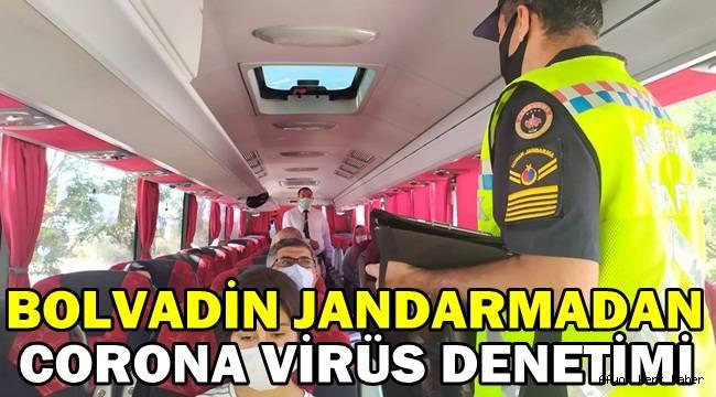 Bolvadin Jandarma ekiplerinden corona virüs denetimi!