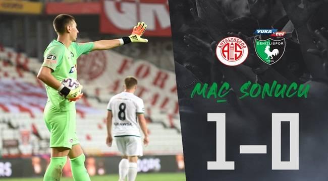 Denizlispor, Antalyaspor'a mağlup oldu!