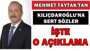 Mehmet Taytak'tan sert sözler!