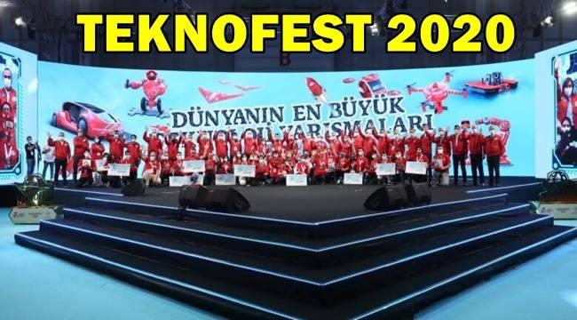 Teknofest 2020'de Yarışmanın kazananları açıklandı