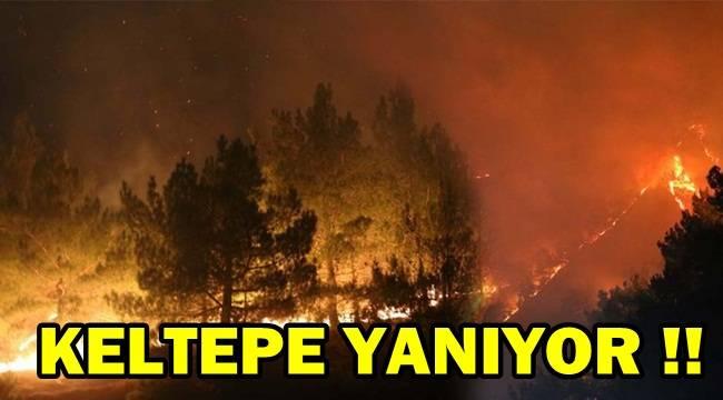 Afyon Keltepe yanıyor !
