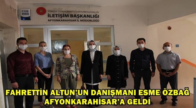 Esme Özbağ Afyonkarahisar'da!