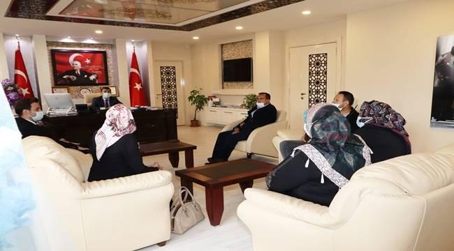 Yeniden Refah Partisi, Kaymakam Bilici'yi ziyaret etti