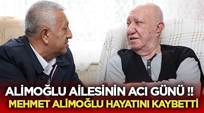 Alimoğlu ailesinin acı günü! Mehmet Alimoğlu hayatını kaybetti