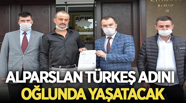 Alparslan Türkeş adını oğlunda yaşatacak