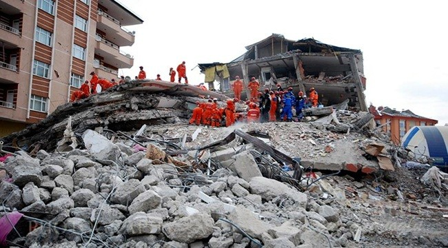 Deprem riskinde İstanbul başı çekti