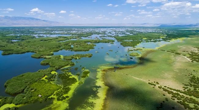 Erdoğan imzaladı! Eber Gölü Doğal Sit Alanı ilan edildi