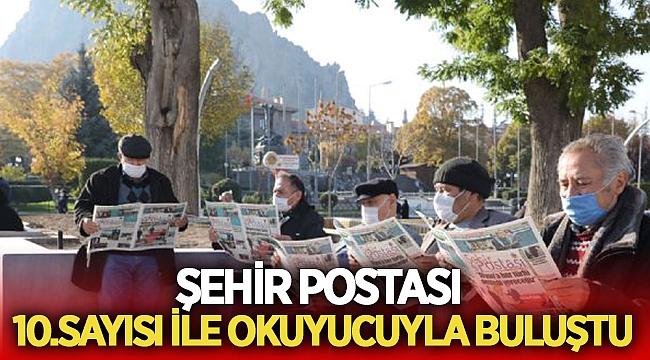 Şehir Postası'nın 10. sayısı okuyucuyla buluştu