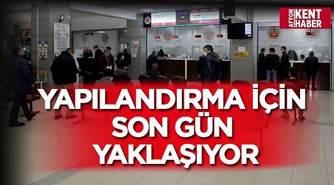 Afyonkarahisar Belediyesi borçları yapılandırıyor!