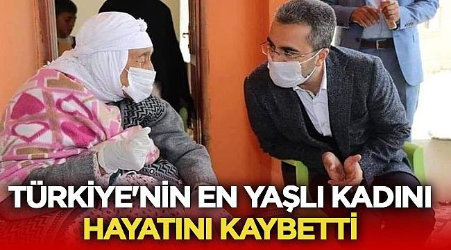 Türkiye'nin en yaşlı kadını Emine Baytar hayatını kaybetti