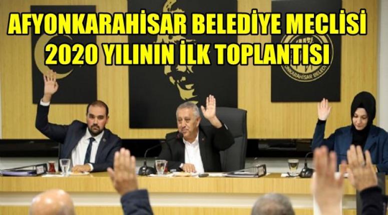 Afyonkarahisar Belediye Meclisi 2020 Yılı toplantısı ne zaman ?
