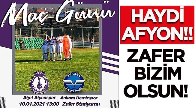 Afjet Afyonspor Ankara Demirspor maçı hangi kanalda saat kaçta canlı yayınlanıyor?