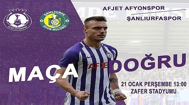 Afjet Afyonspor erteleme maçında Şanlıurfaspor ile karşılaşacak