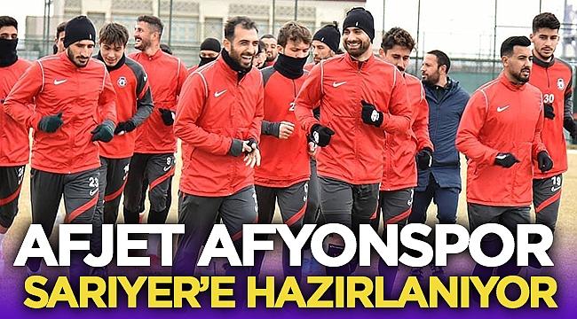 Afjet Afyonspor, Sarıyer'e hazırlanıyor!