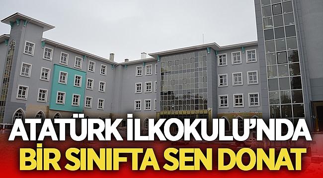 """Afyon Atatürk İlkokulu """"Bir sınıfta sen donat kampanyası başlattı"""""""