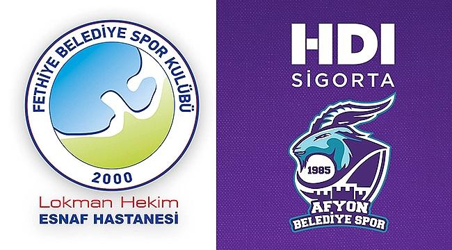 HDI Sigorta Afyon Belediyespor-Lokman Hekim Fethiye Belediyespor ile karşılaşacak