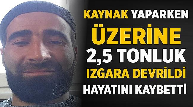 Samsun'da üzerine 2,5 tonluk ızgara düşen Emre Horasan hayatını kaybetti