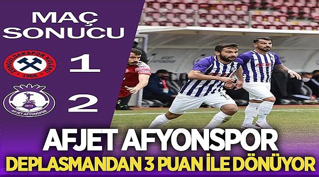 Zonguldak Kömürspor:1 Afjet Afyonspor:2