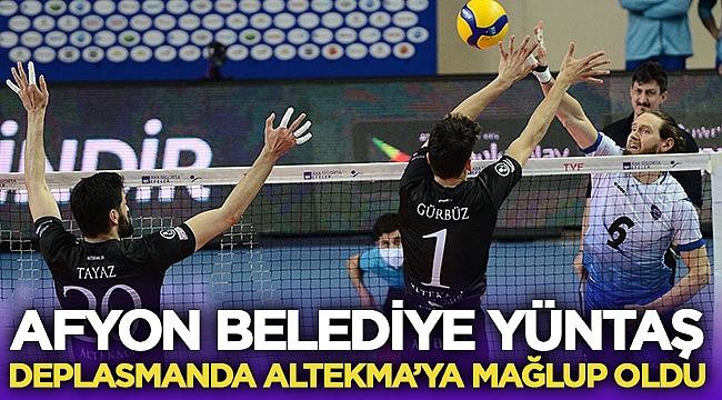 Afyon Belediye Yüntaş, Altekma'ya mağlup oldu!