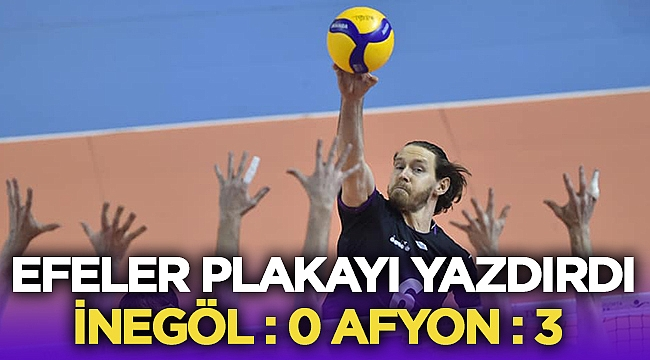 Afyon Belediye Yüntaş, İnegöl'de plakayı yazdırdı! 0-3