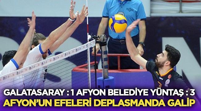 Afyon'un Efeleri Galatasaray'ı devirdi!