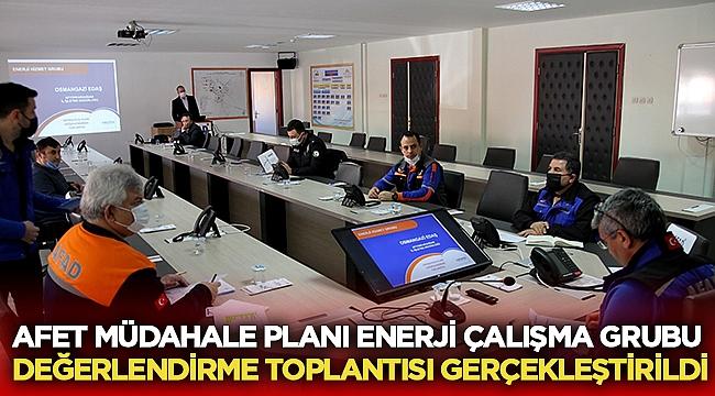 Afyonda Afet Müdahale Planı toplantısı gerçekleştirildi