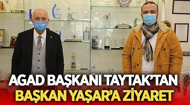 AGAD Başkanı Taytak'tan Başkan Yaşar'a ziyaret