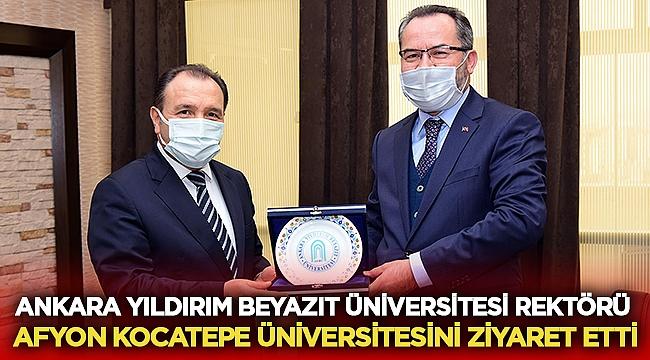 Ankara Yıldırım Beyazıt Üniversitesi Rektöründen AKÜ'ye ziyaret!
