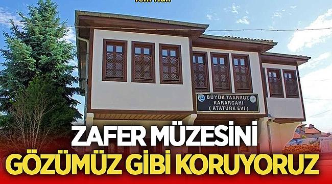Eroğlu, Zafer Müzesini gözümüz gibi koruyoruz!