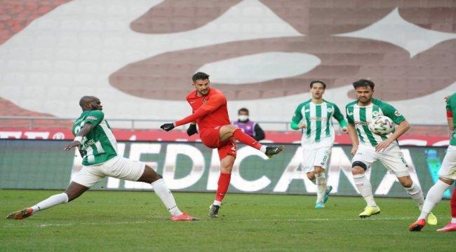 İttifak Holding Konyaspor:0 - Gaziantep FK:0 ( Maç sonucu )