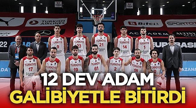 Türkiye, Hırvatistan'ı 84-78 skorla yendi