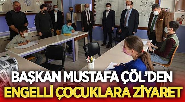 Başkanı Mustafa Çöl engelli çocukları unutmadı!
