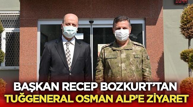 Recep Bozkurt, Osman Alp komutanı ziyaret etti