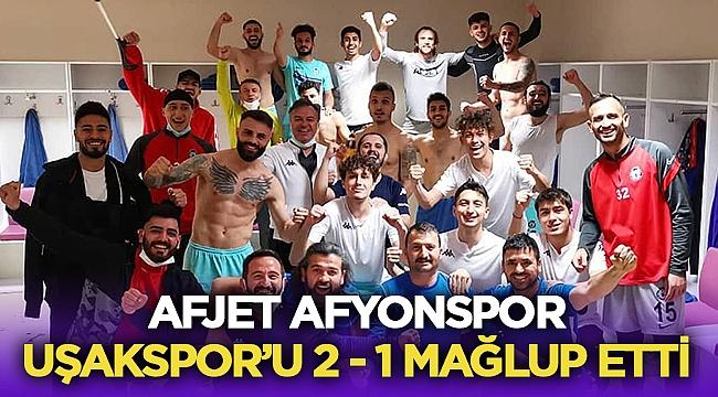 Afjet Afyonspor, Uşakspor'dan rövanşı aldı!