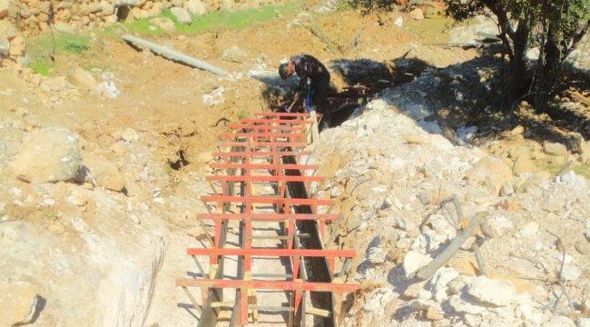 Mardin Savur'a 2 bin metre uzunluğunda sulama kanalı yapılacak