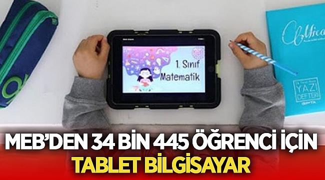 Milli Eğitim Bakanlığı'ndan öğrencilere tablet bilgisayar!