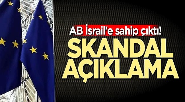 Avrupa Birliği İsrail saldırılarını görmezden geliyor