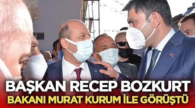 Recep Bozkurt Bakan Kurum ile görüştü
